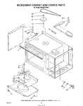 Diagram for 09 - Microwave Cabinet And Stirrer