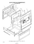 Diagram for 05 - Oven Door And Drawer