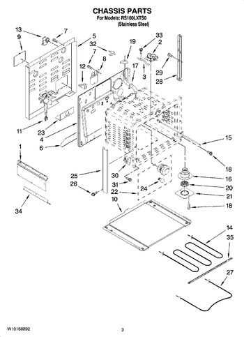 Diagram for RS160LXTS0