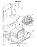 Diagram for 02 - Oven Parts