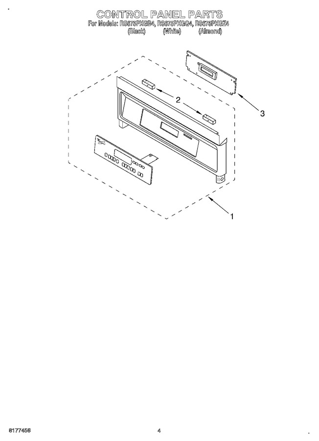 Diagram for RS675PXGQ4