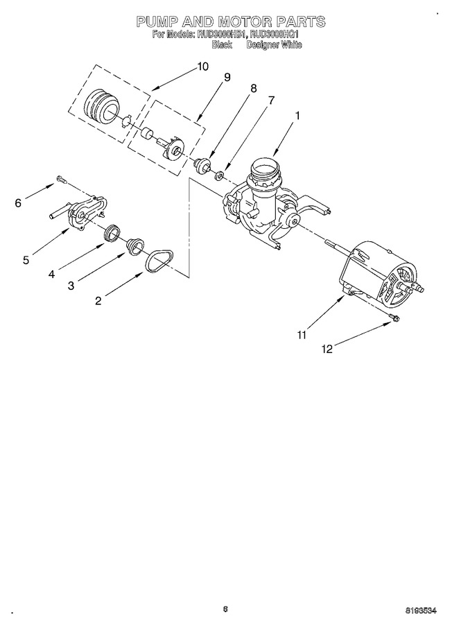 Diagram for RUD3000HB1