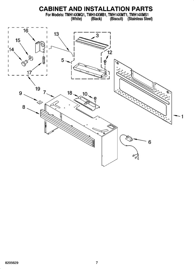 Diagram for TMH14XMT1