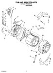 Diagram for 06 - Tub And Basket Parts, Optional Parts (not Included)
