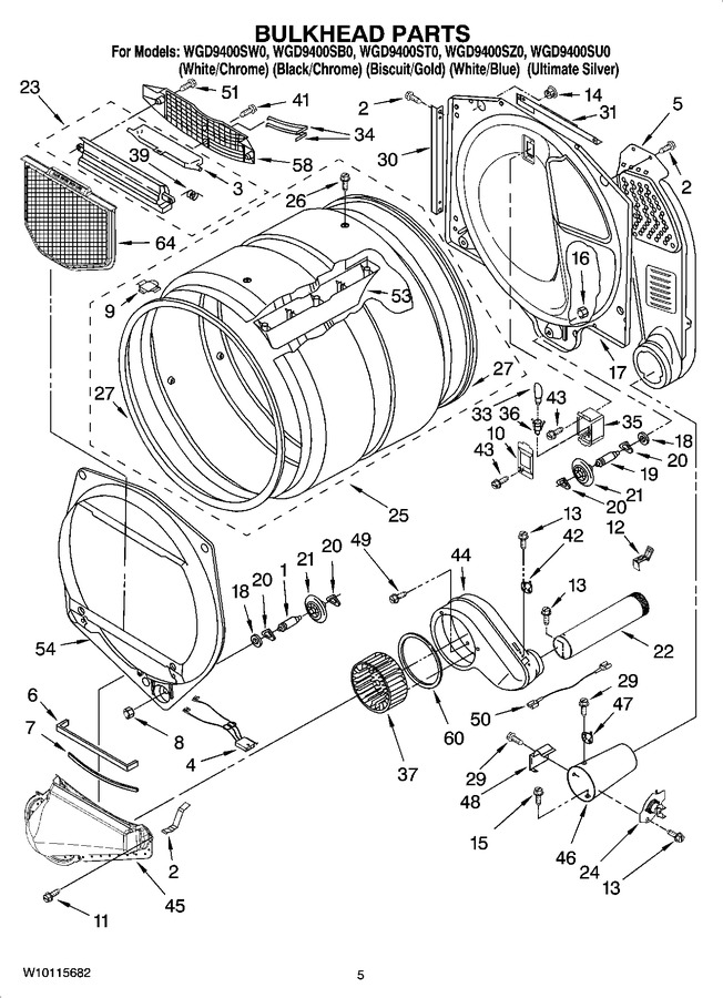 Diagram for WGD9400SU0