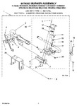 Diagram for 04 - 8576353 Burner Assembly