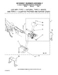 Diagram for 04 - W10293911 Burner Assembly