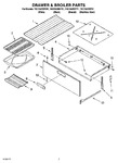 Diagram for 05 - Drawer & Broiler Parts, Optional