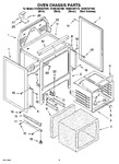 Diagram for 04 - Oven Chassis Parts