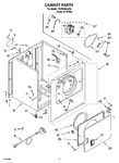 Diagram for 02 - Cabinet Parts