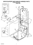 Diagram for 05 - Dryer Support And Washer Harness Parts