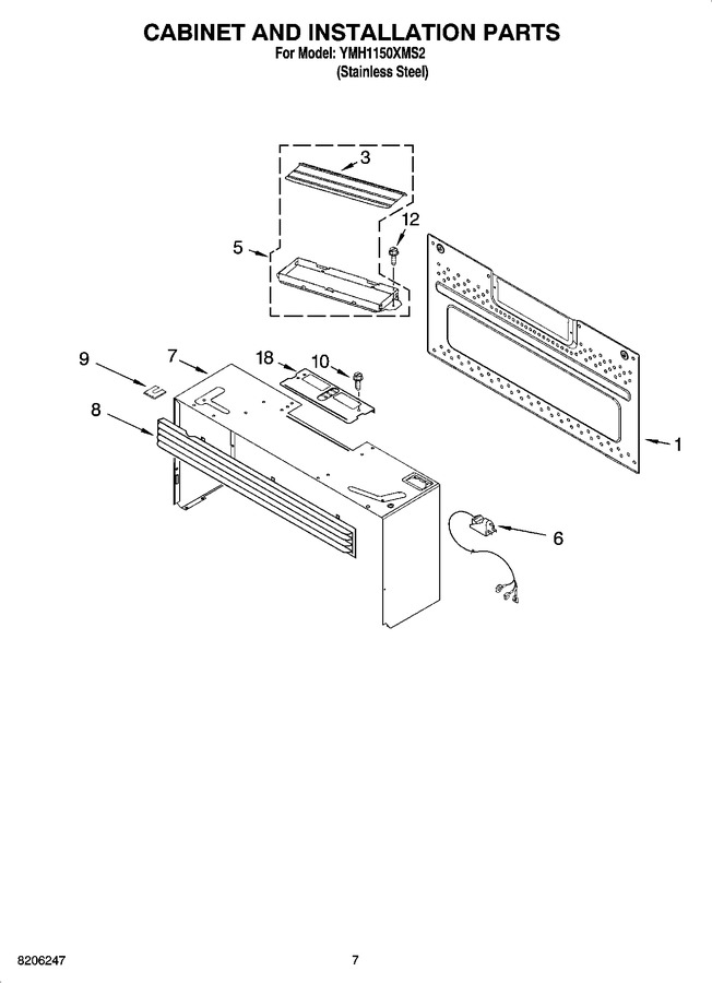 Diagram for YMH1150XMS2