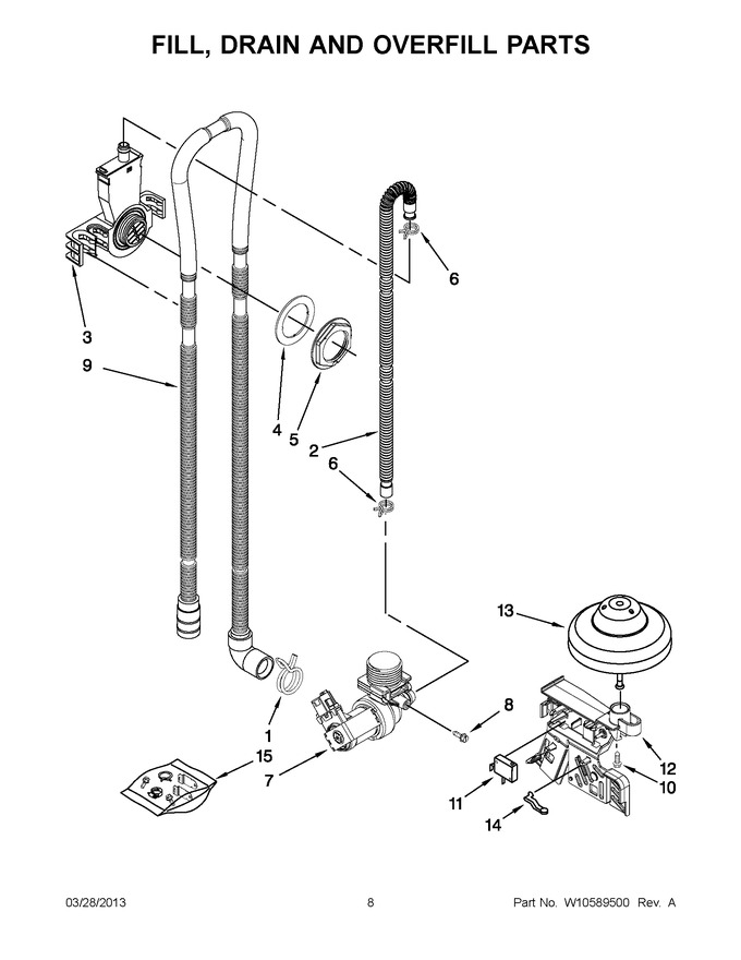 Diagram for IUD6100BB0