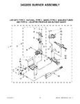 Diagram for 14 - 3402855 Burner Assembly