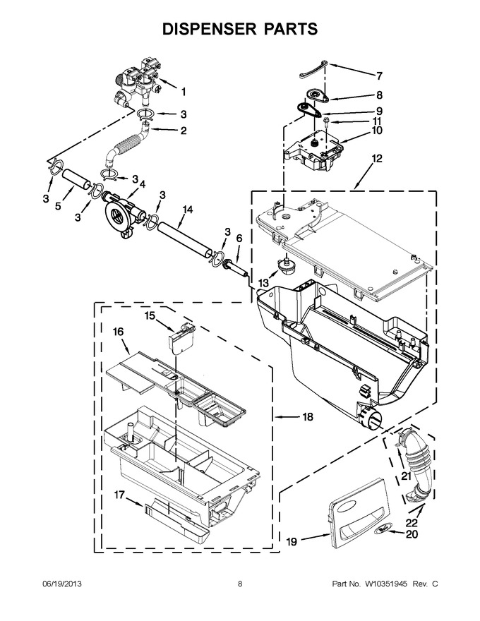 Diagram for WFW95HEXL0