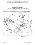 Diagram for 05 - 8576353 Burner Assembly Pa