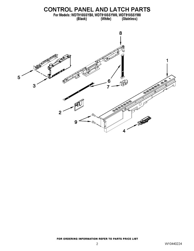 Diagram for WDT910SSYM0