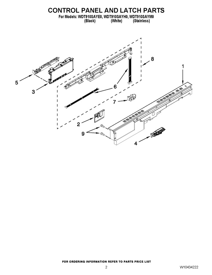 Diagram for WDT910SAYH0