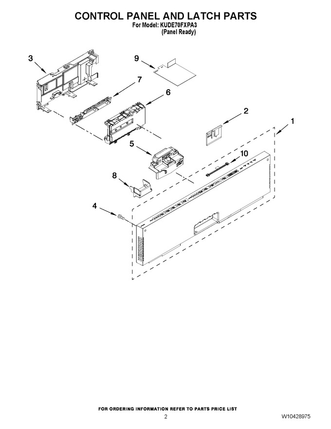 Diagram for KUDE70FXPA3
