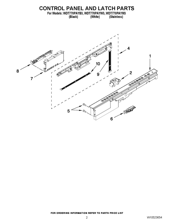 Diagram for WDT770PAYW3