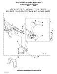 Diagram for 04 - W10307147 Burner Assembly