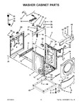 Diagram for 07 - Washer Cabinet Parts
