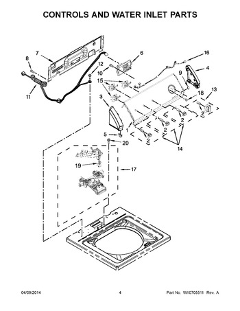 Diagram for CAW9444DW1