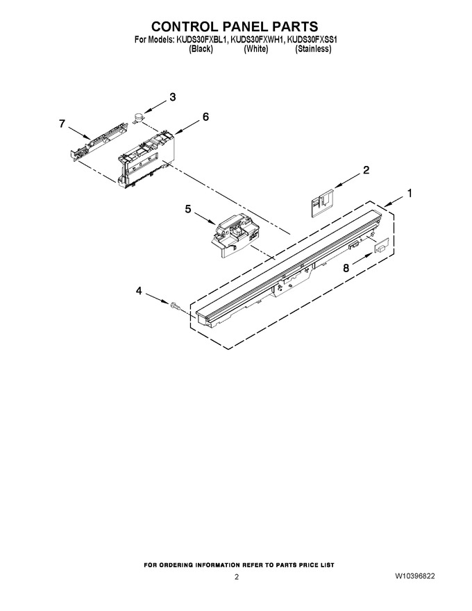 Diagram for KUDS30FXWH1
