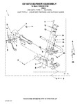 Diagram for 04 - 8318272 Burner Assembly