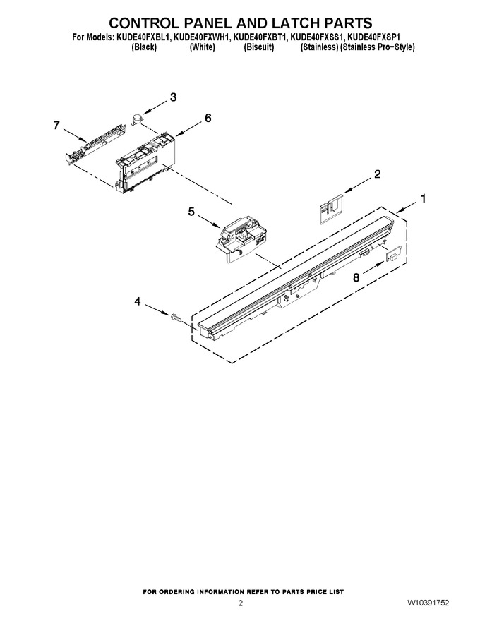 Diagram for KUDE40FXWH1