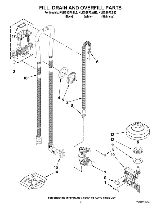Diagram for KUDS30FXWH2