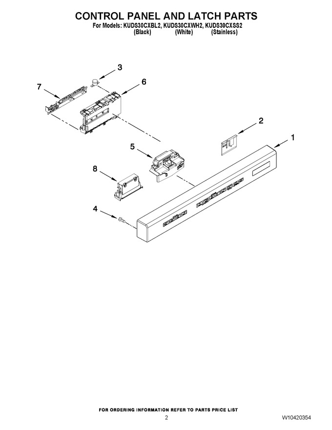 Diagram for KUDS30CXBL2