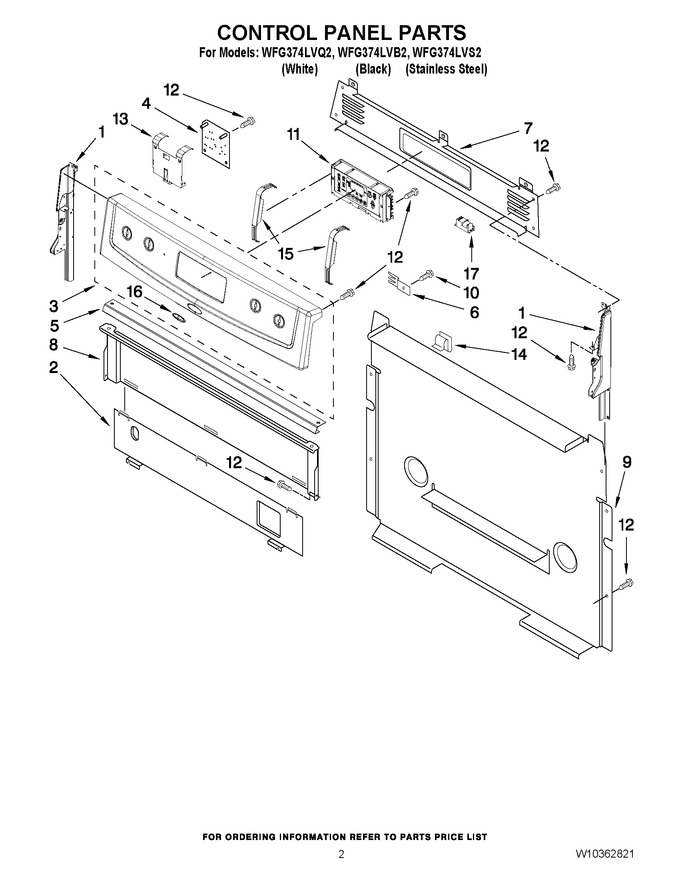Diagram for WFG374LVS2