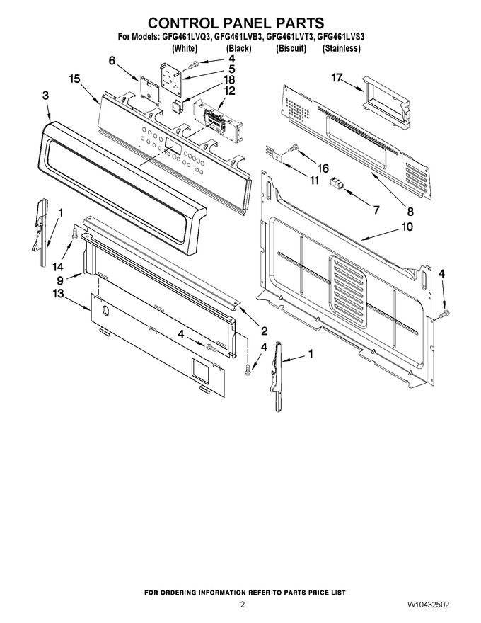 Diagram for GFG461LVT3