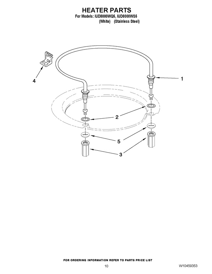 Diagram for IUD8000WS5