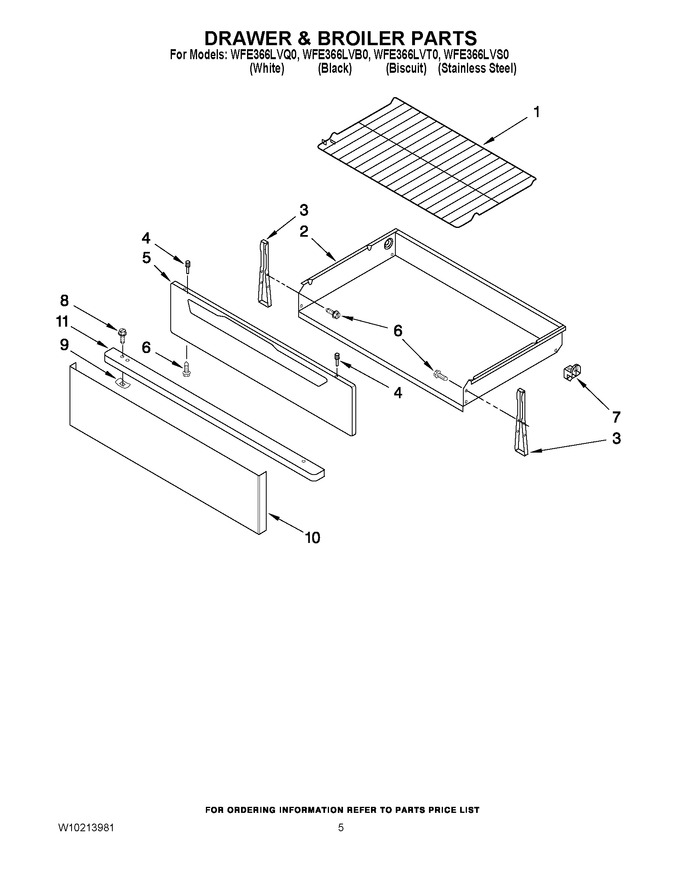 Diagram for WFE366LVT0