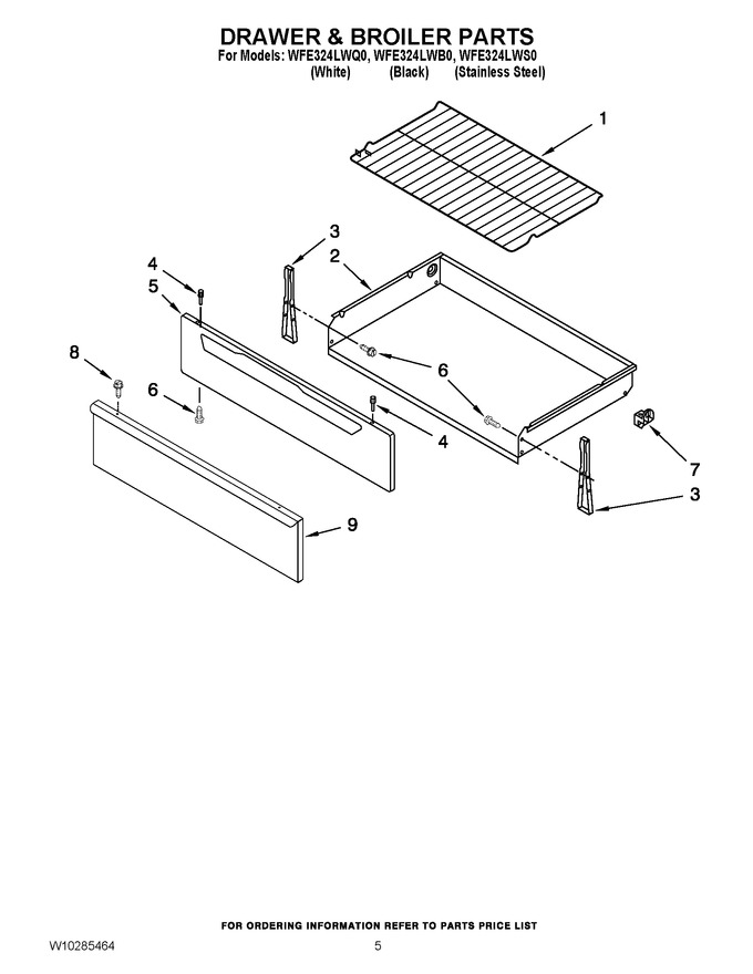 Diagram for WFE324LWB0