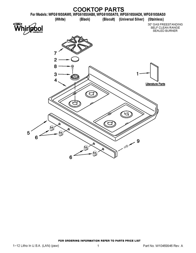 Diagram for WFG510S0AS0