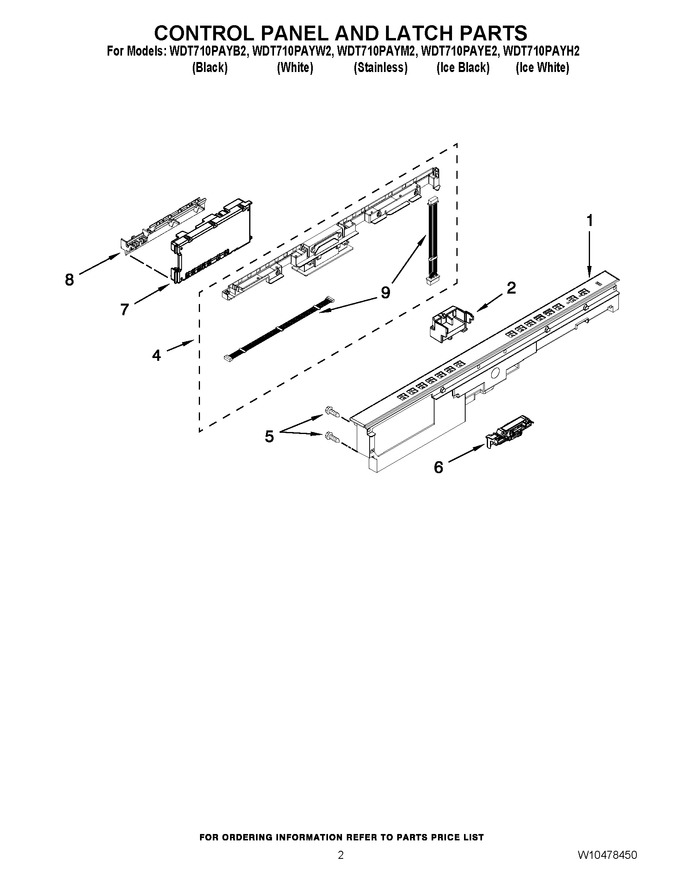 Diagram for WDT710PAYW2