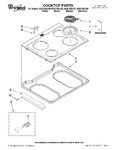 Diagram for 01 - Cooktop Parts