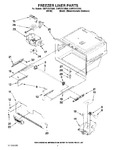 Diagram for 06 - Freezer Liner Par