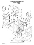 Diagram for 06 - Washer Cabinet Parts
