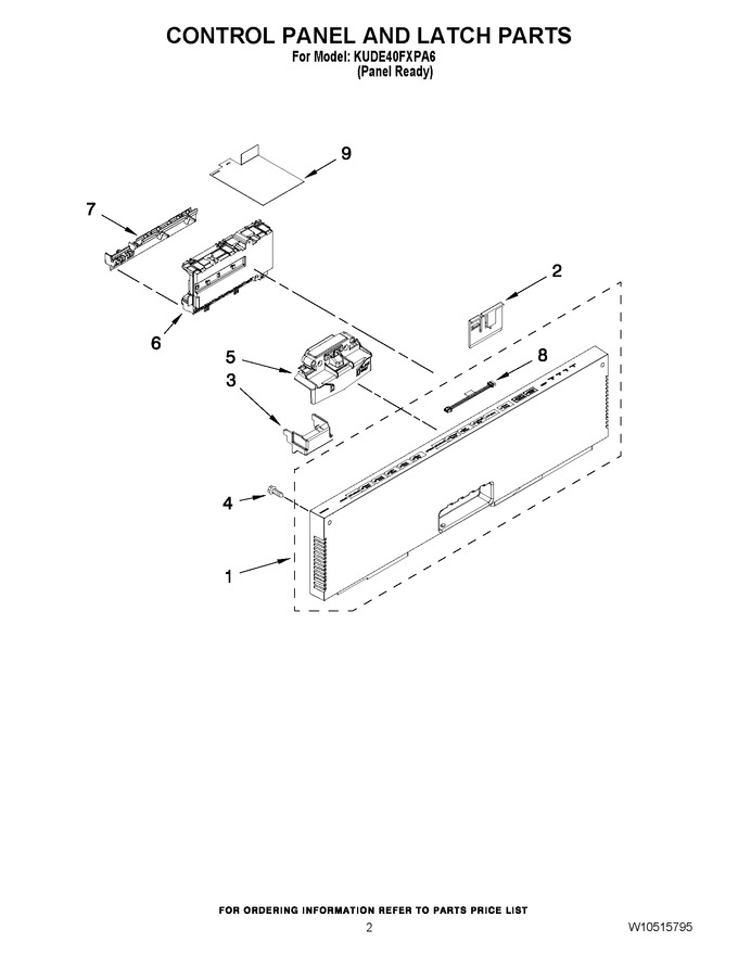 Diagram for KUDE40FXPA6
