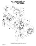 Diagram for 05 - Tub And Basket Parts