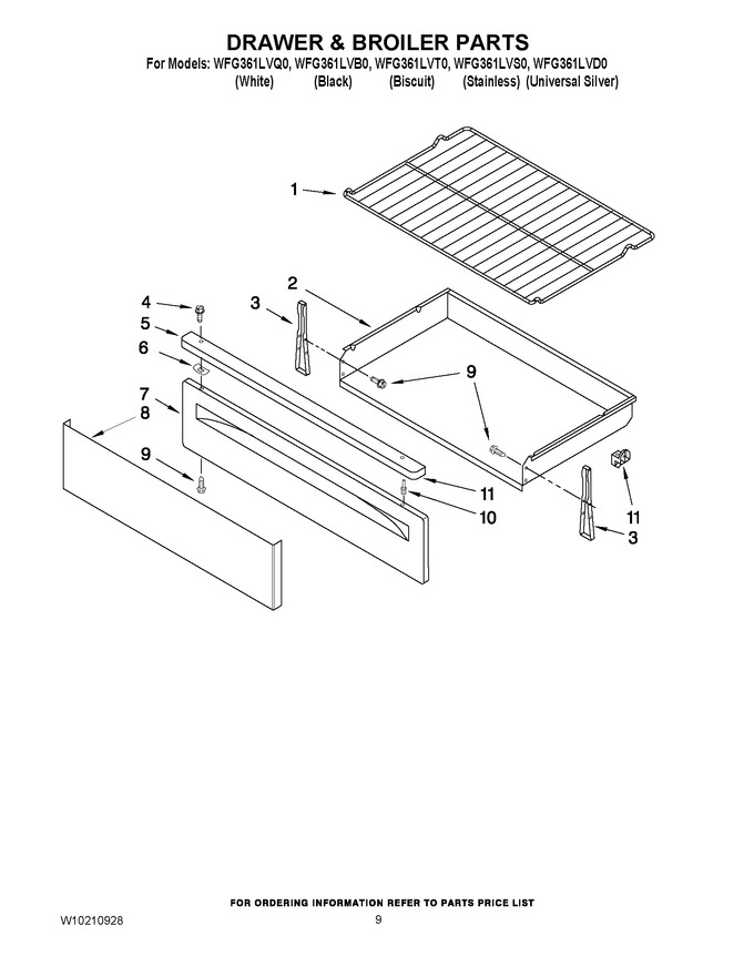 Diagram for WFG361LVT0