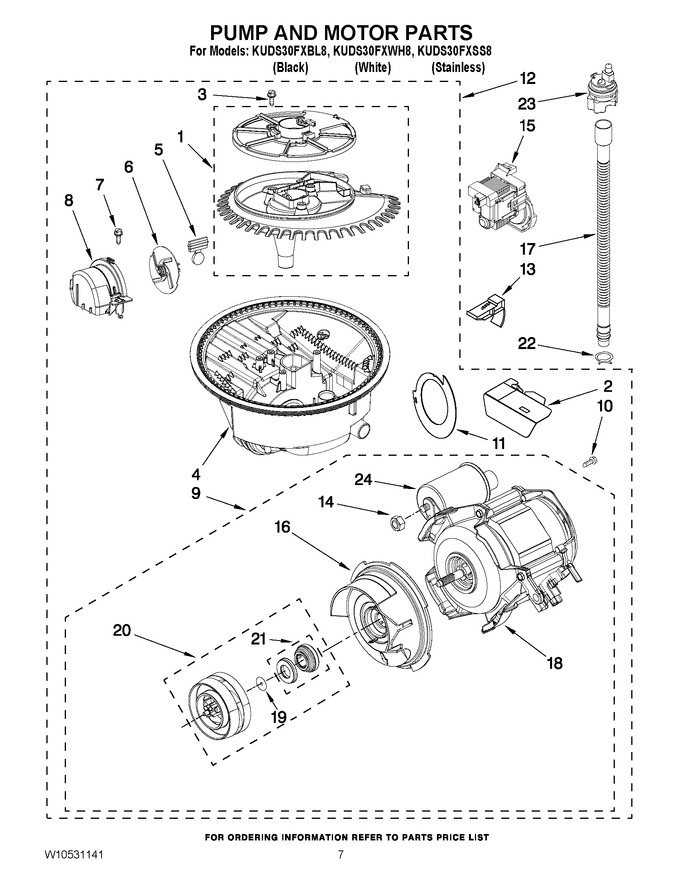 Diagram for KUDS30FXSS8