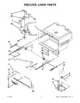 Diagram for 06 - Freezer Liner Parts
