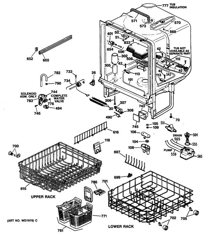 Diagram for GSD1425T62BA