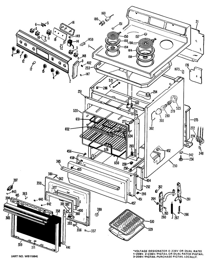 Diagram for JBS26G*J3