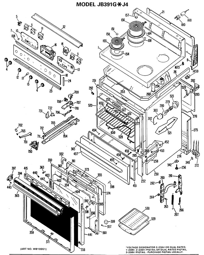 Diagram for JB391G*J4